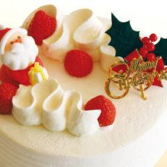 【クリスマスケーキ】苺のデコレーション