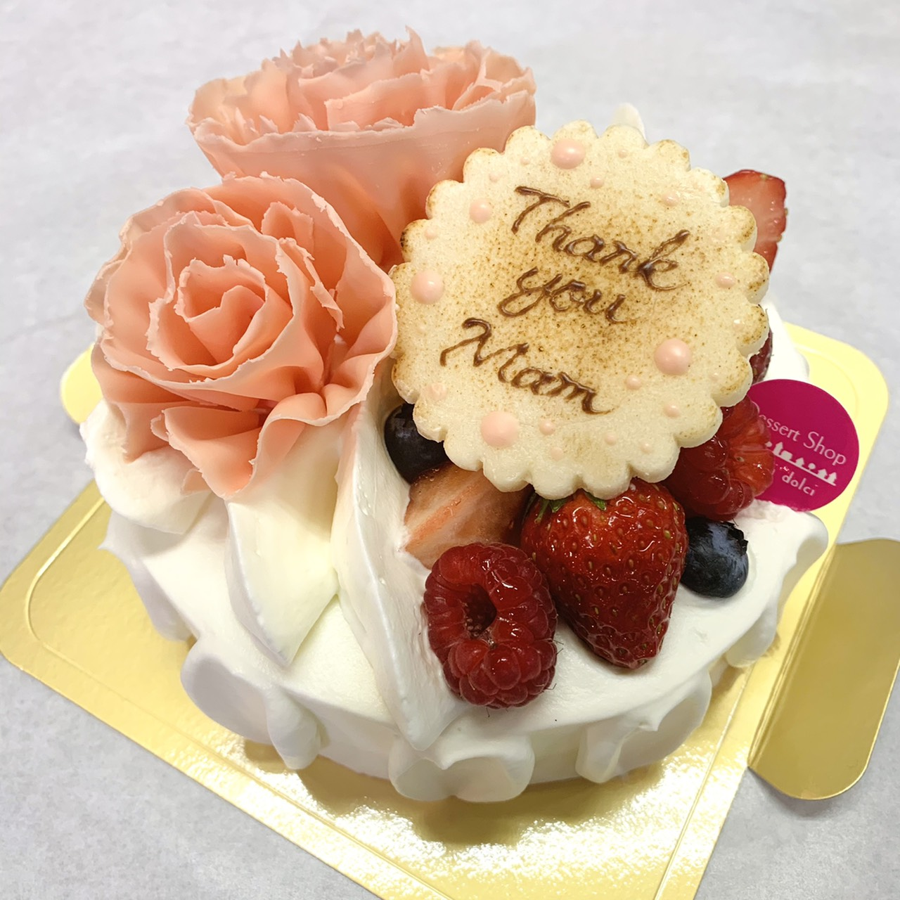 2021年母の日ケーキ